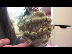 Never seen such well-done tight curls on AG! Gorgeous Curls- Doll Hair How-to American Girl