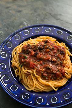 Pasta Puttanesca Recipe   SimplyRecipes.com