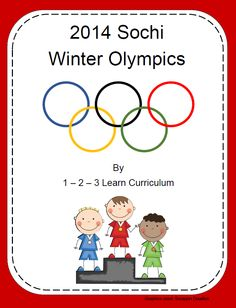 I have added a 2014 Sochi Winter Olympics fileTPT.. Jean 1 - 2 - 3 Learn Curriculum