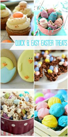 Quick and easy treats perfect for Easter time!! { lilluna.com }