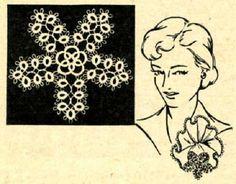 5312 Vintage Tatting PATTERN for Easter Star taken by BlondiesSpot, $1.99