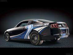 Ford Mustang Cobra Jet Twin Turbo Concept 2012