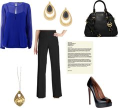 Business Casual Outfit Idea on What to Wear to an Interview - On the