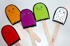 FREE! THIS IS THE CUTEST STORY EVER!The Chocolate Chip Ghost Story   Free printable - Popsicle Blog