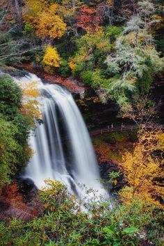 ✯ Upper Cullasaja Falls, Highlands, NC
