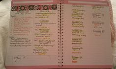 College Prep: INTENSE STUDY TIPS -Left side: write down each chapter, articles, ppt slides (basically everything covered on the exam -See how many days left b4 exam and divvy evenly -Right side: Day of study week and which days I plan to study and how long