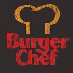 burger chef vintage t shirt