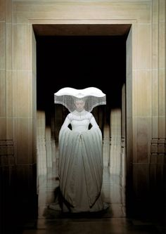 Beautiful, iconic, and weird wedding dress. The Fall - Justine Waddell