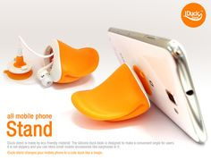 iDUCK Stand for iPhone and Mobile Phones