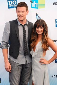 LEA MICHELE AND CORY MONTEITH REUNITE AFTER REHAB