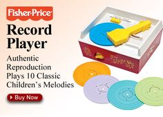 Fisher Price Record Player - still have mine!