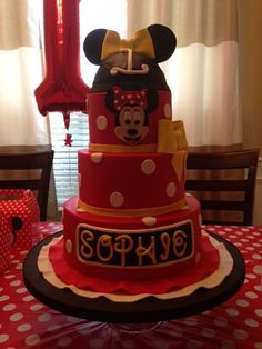 Happy Birthday Sophie from Party Flavors! Looks like your 1st party was a great success!