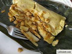 Tamales Salvadoreños de Gallina / Salvadoran Chicken Tamales - Latinaish.com