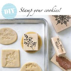 Stamped Cookies!