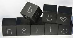 Christy: Chalk: Alphabet Chalk Blocks