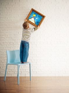 Creative ways to save your child's artwork!