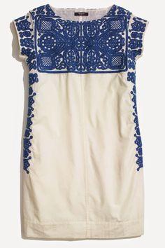 Madewell Embroidered Casita Dress