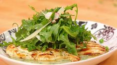 Chicken Paillards with Arugula Salad