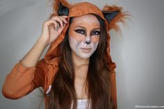 What does the fox say?? Halloween Fox Makeup - Halloween Costumes 2013