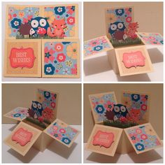Woodland creatures Card In a Box