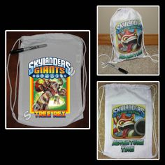 SKYLANDERS GIANTS MINI DRAWSTRING SPORT PACK