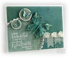 Stamps:  Beautiful Kindness (Verve Stamps) Paper: Stella & Rose Hazel collection (My Mind's Eye), White