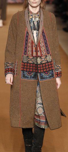 Gorgeous use of fabric - AUTUMN/WINTER 2014-15 READY-TO-WEAR ETRO