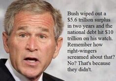 Bush and the defifict