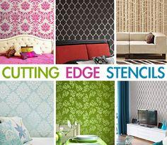 Cutting Edge Stencils - Featured Stencils