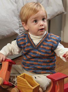 Chaleco V Bebé Descarga ya el patron en www.eviadigital.com