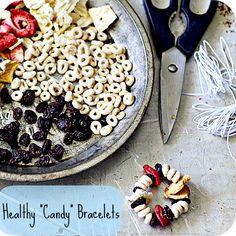 A healthy alternative to candy bracelets!