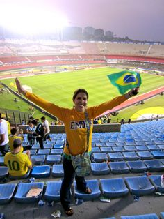 A Candler student named Haley shares her experience living and studying in São Paulo, Brazil in the August 16, 2013 post from the Enthused blog for Candler admissions. Here she is at Morumbi Stadium in São Paulo. Read the post: http://www.candler.emory.edu/admissions/blog/?p=2644 #cst #lucefellow #studyabroad