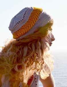 Gitana Hat - hand knitting pattern PDF