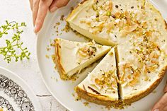 Our Cruchy Nut Cheesecake! Most Popular Recipes of 2013 on Prevention Magazine Aus!