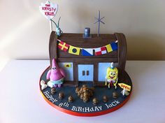 The Krusty Krab cake by Cakes by Lea