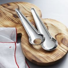 Como 2-Piece Salad Server Set  | Crate and Barrel