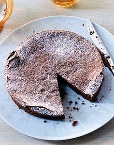 Chocolate hazelnut torte from Gourmet Magazine