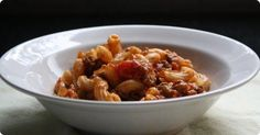 Easy Beef goulash. This version of goulash, made with hamburger and elbow macaroni, was a popular family dinner in the 1970s.