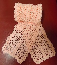 Ravelry: Project Gallery for Sweet Lorraine Lace Scarf pattern by Doris Chan
