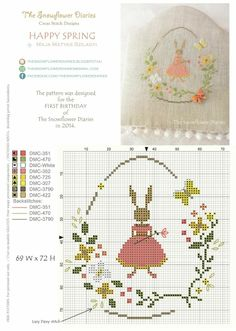 The Snowflower Diaries: Free pattern for my first blogiversary:-).