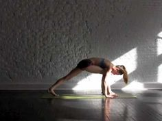 Morning Yoga... I've been doing this for the past couple of mornings & it feels amazing!