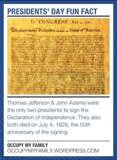 which two presidents died the same day, july 4, 1826?