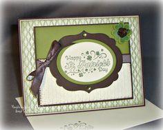 Shamrock St. Patricks Day Card