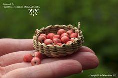 Hummingbird Miniatures: fruit and veg