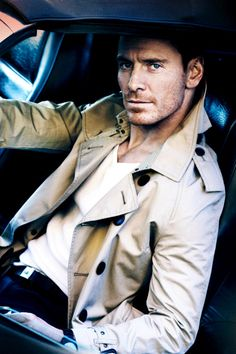 Michael Fassbender for GQ, June 2012 Photographed by Mario Testino//