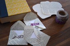 books, tape &envelopes