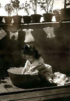 little laundry helper...
