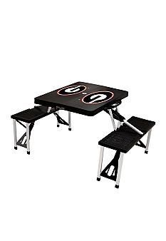 Picnic Time Georgia Bulldogs Picnic Table - Online Only