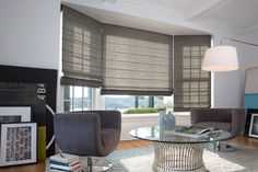 Window treatments are not only functional, they can tie together the entire look of the room. We're giving away five $5,000 gift certificates to be used at @theshadestore! Enter the Great TOH Giveaway for your chance to win!