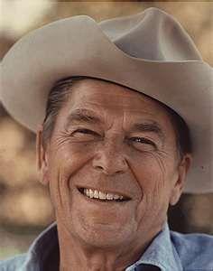 Ronald Regan...